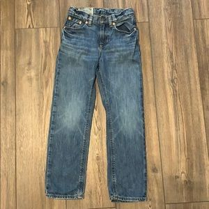 Boy polo jeans size 6